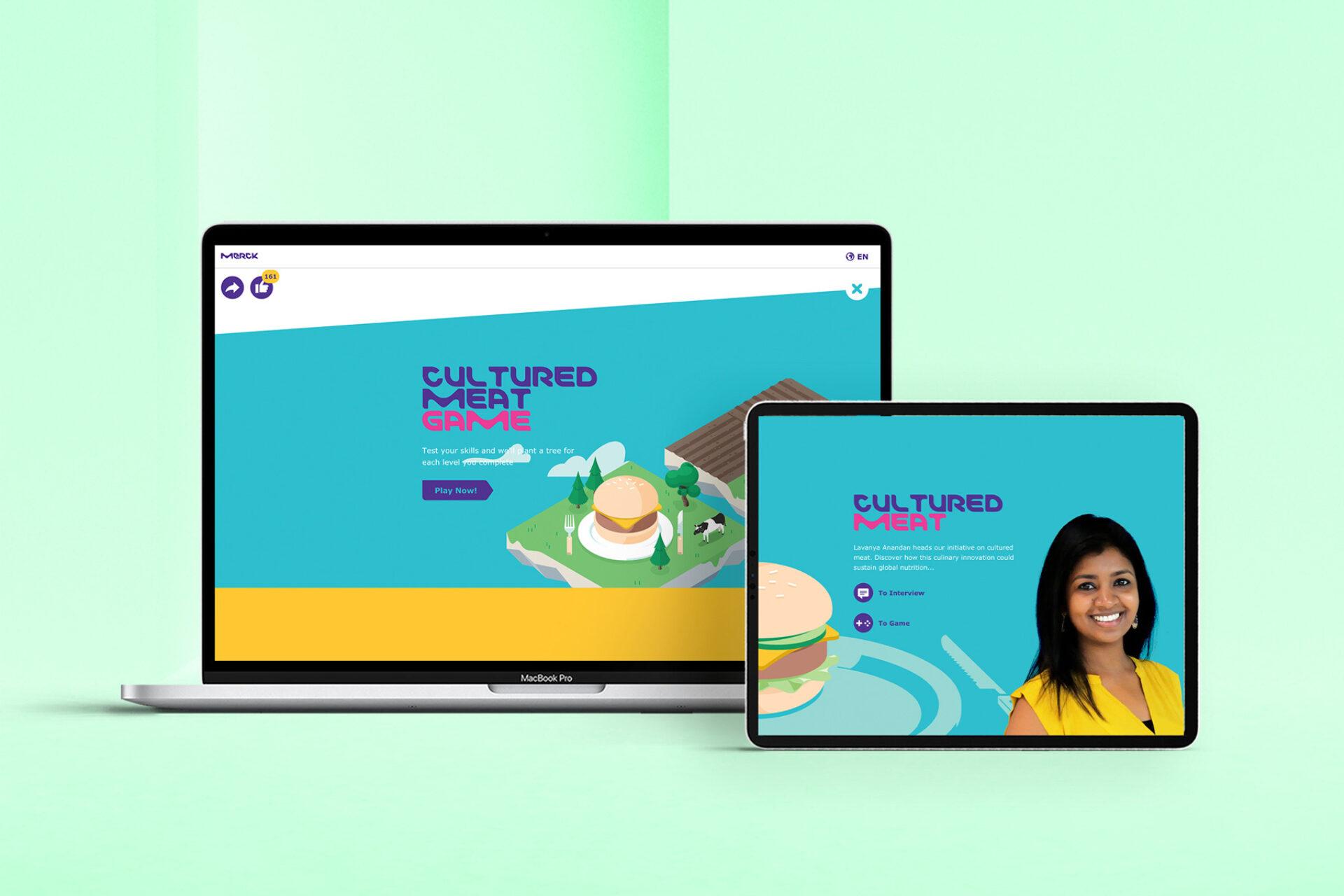 Merck Meat Game 3 - Interview mit Lavanya Anandan
