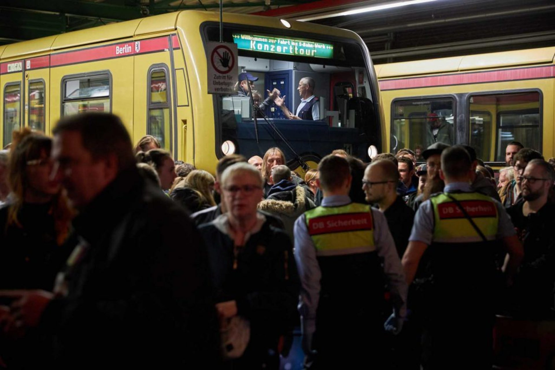 Romano S Bahn Berlin fischer Appelt Konzert Bahnhof