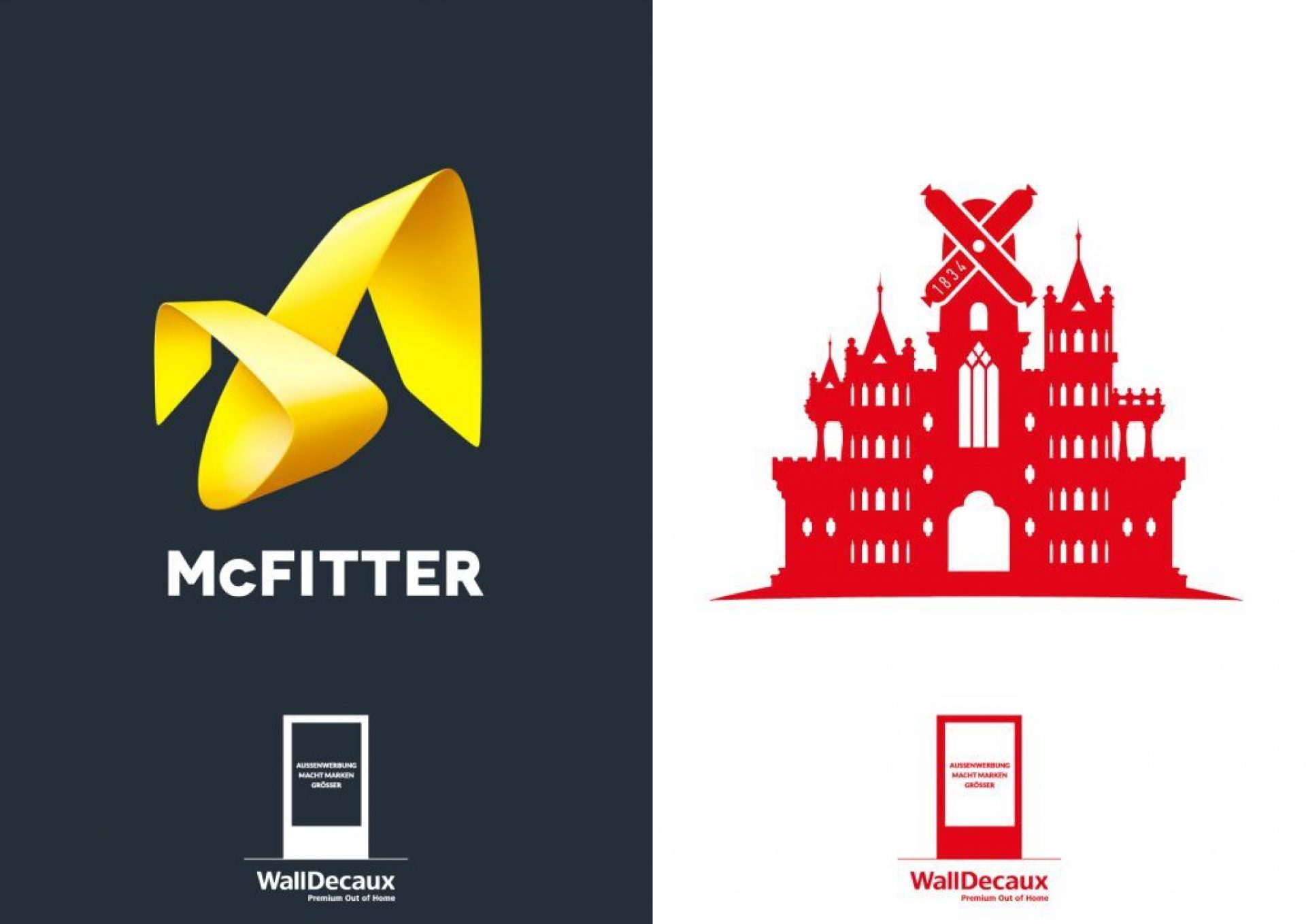 Make the logo bigger? Only with WallDecaux.