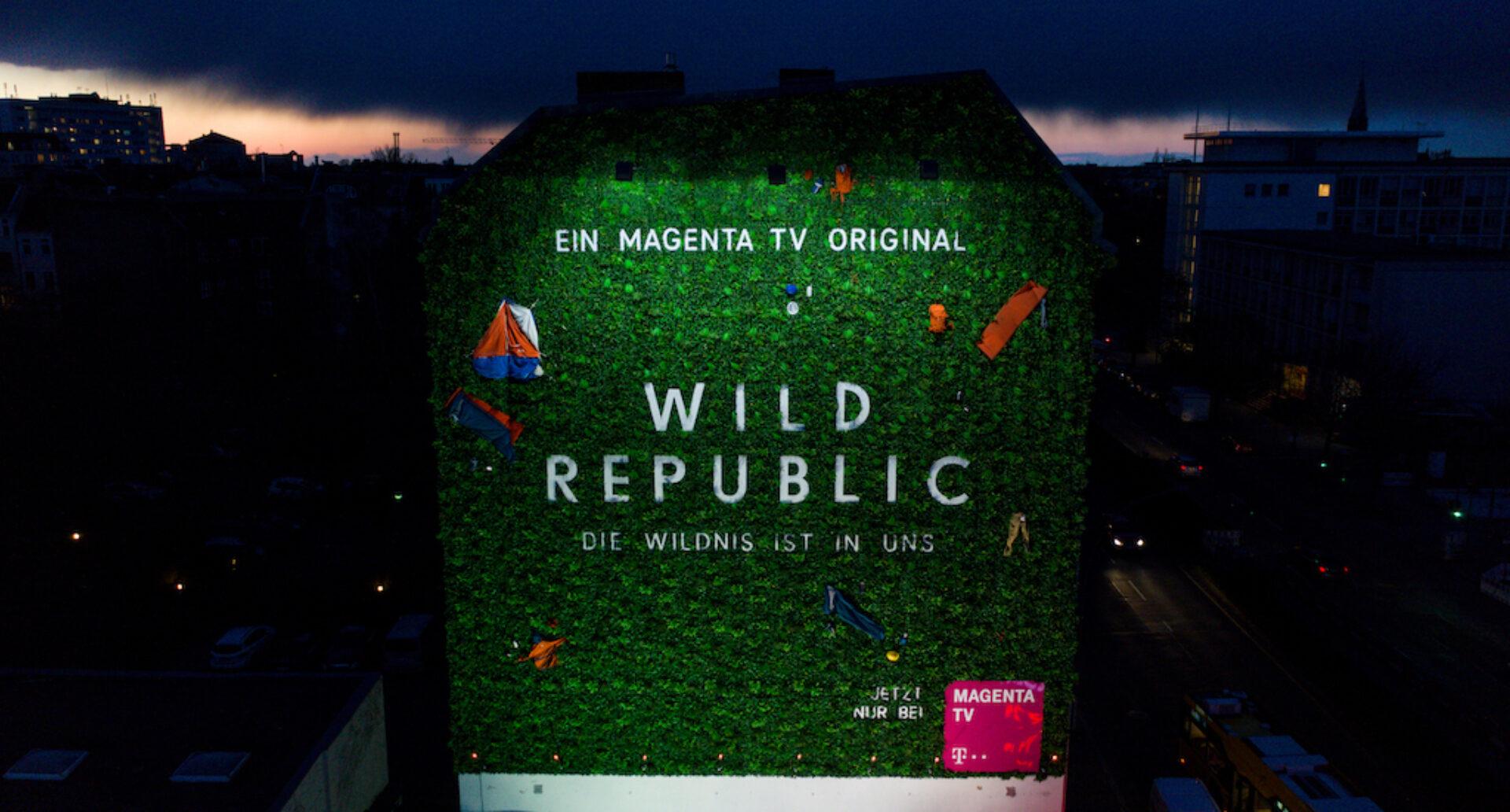 Wild Billboard Berlin MagentaTV Serie Wild Republic Copyright Deutsche Telekom