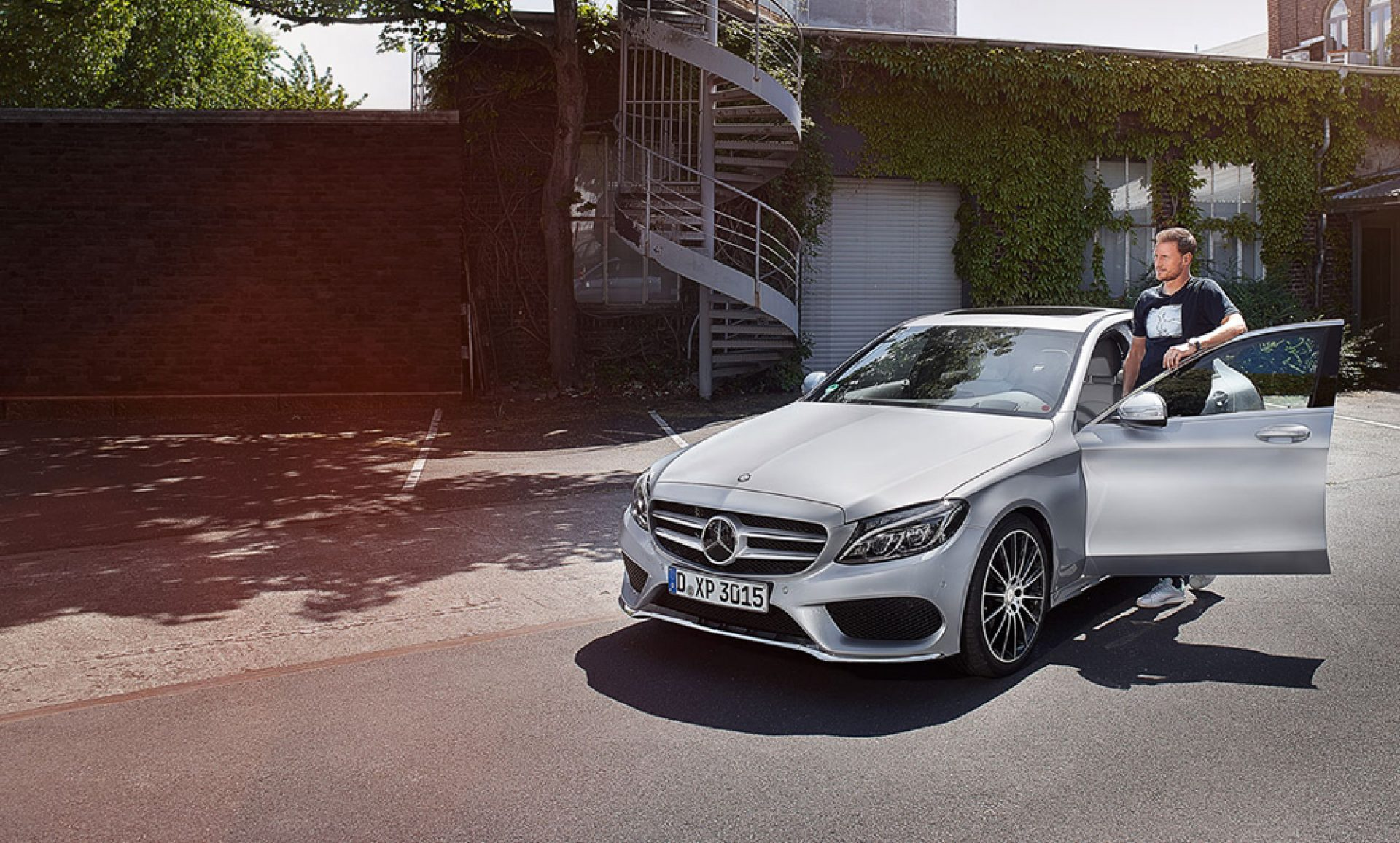 World Cup in the new C Class