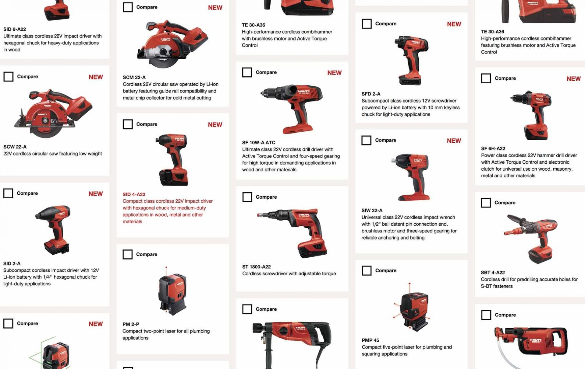 Hilti: Nothing for lightweights