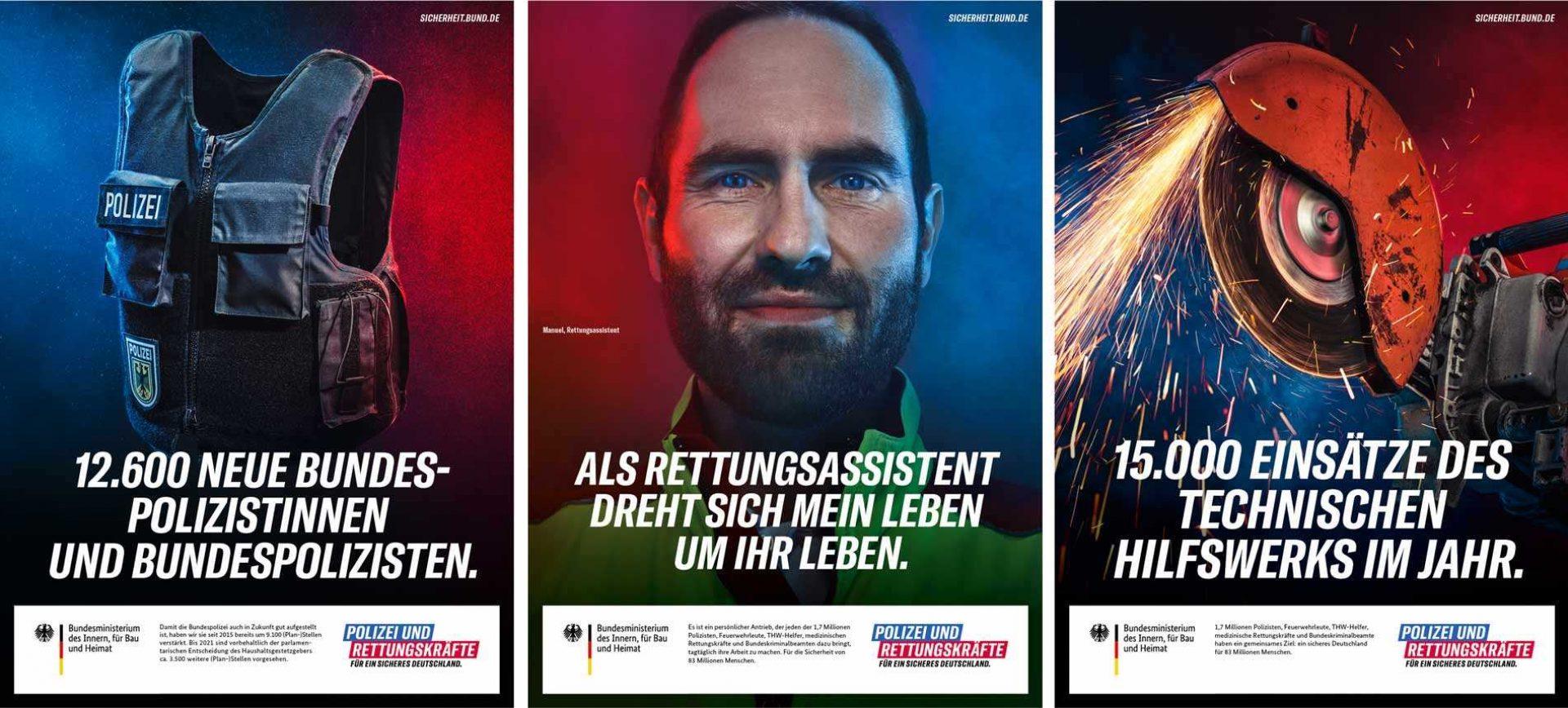 Fischer Appelt Bundes Ministerium des Innern Kampagne 2019