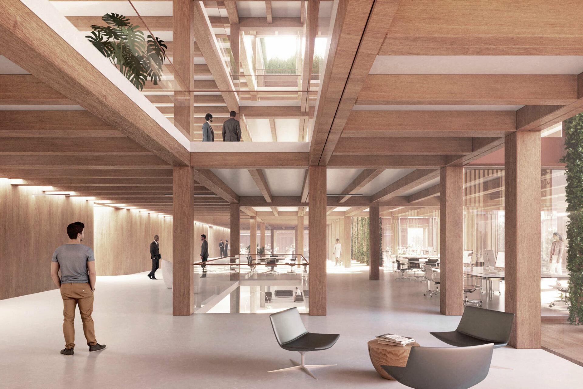 Fischer Appelt New Work Campus Innenperspektive