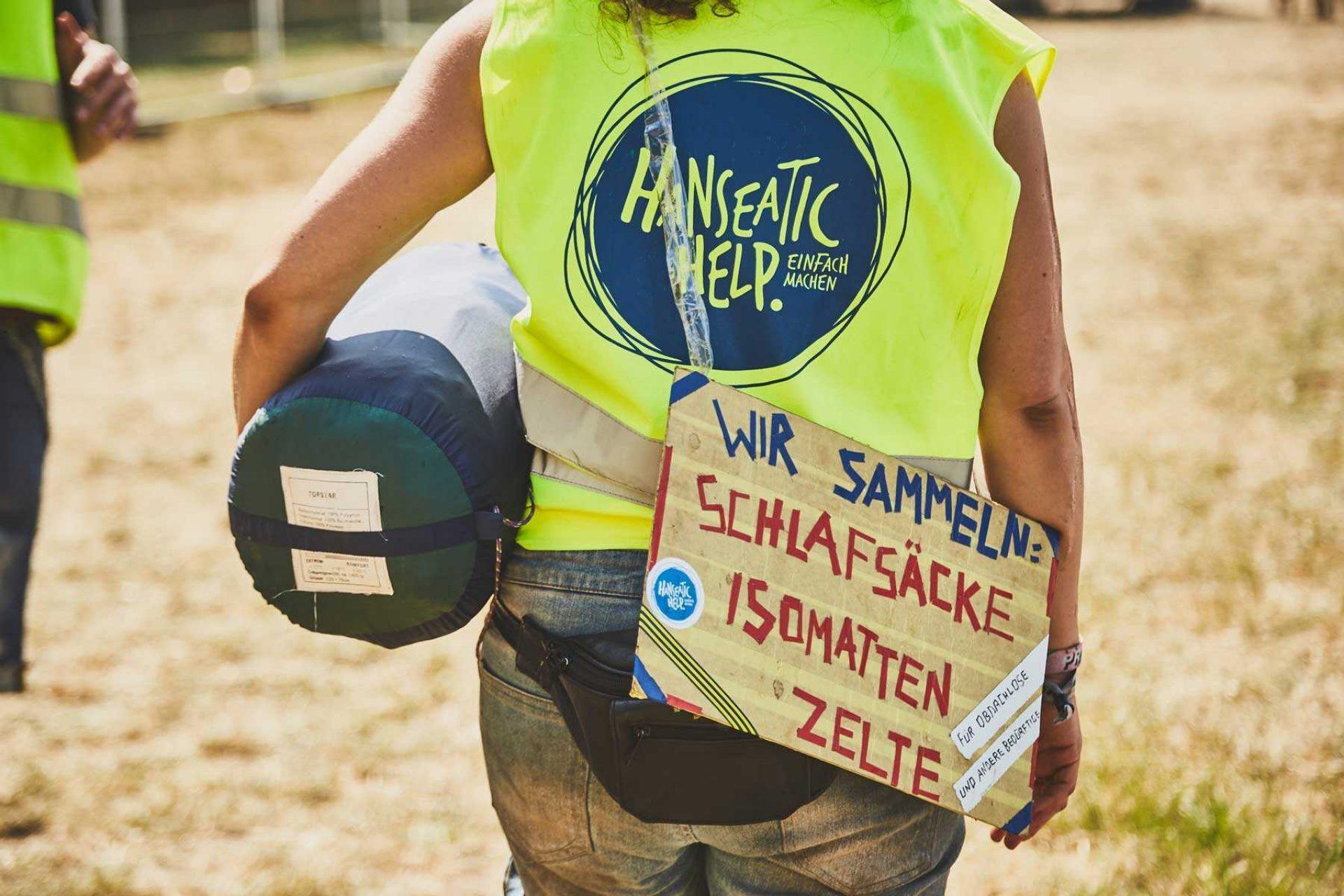Hanseatic help auf dem Deichbrand Festival