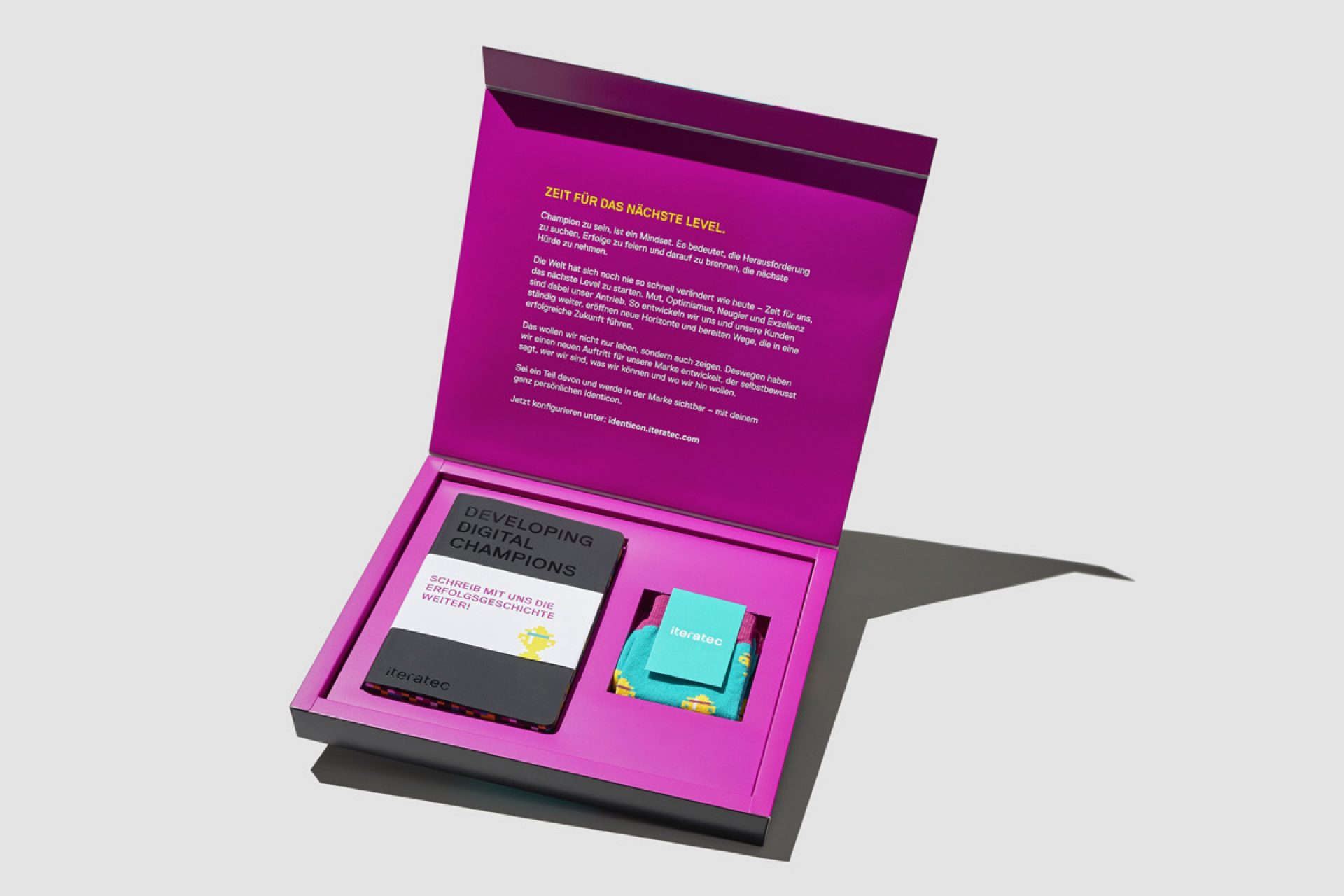 Iteratec Markenlaunch Starter Kit ligalux
